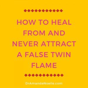 false twin flame