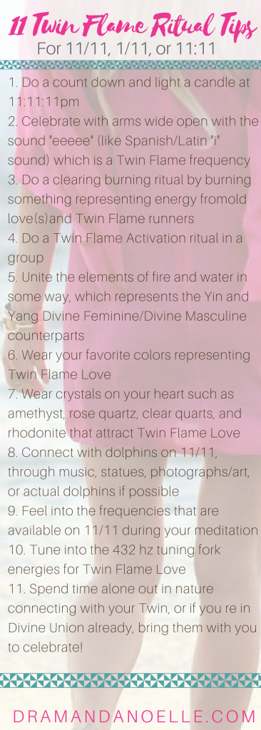 Twin Flame 1111 Rituals For Magic And Manifestation On